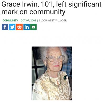 Grace Irwin